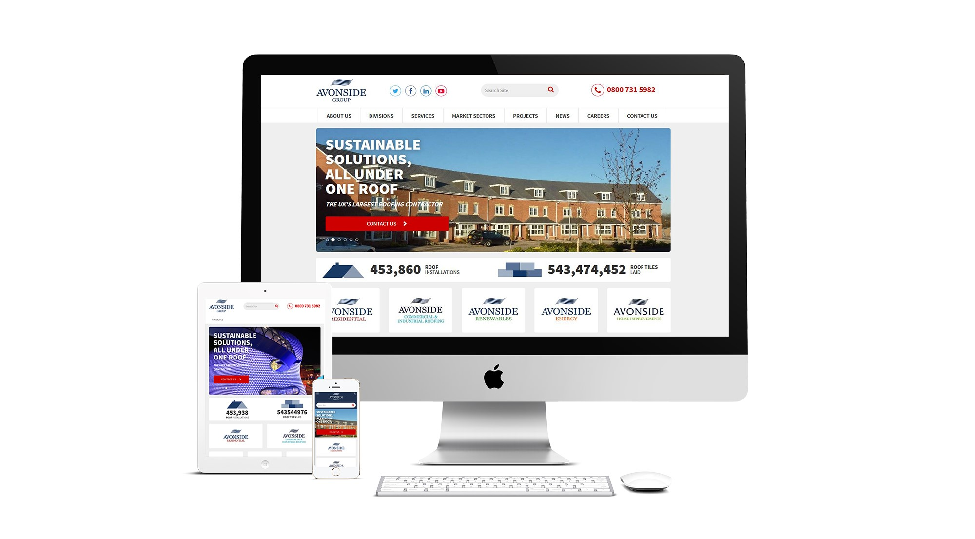 Avonside Launch New Website