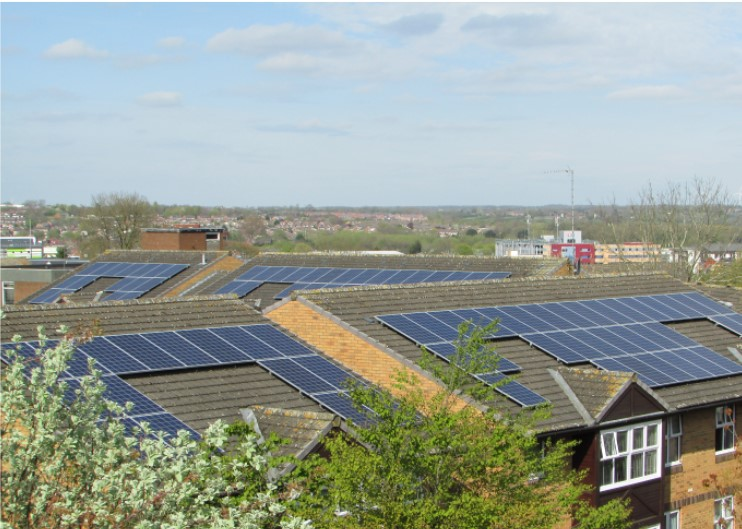 Albert Square Sheltered Housing Complex Solar PV Panels