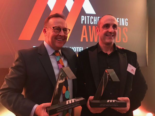 Pitched Roofing Awards 2018, Tony Burke and Chris Hopkins