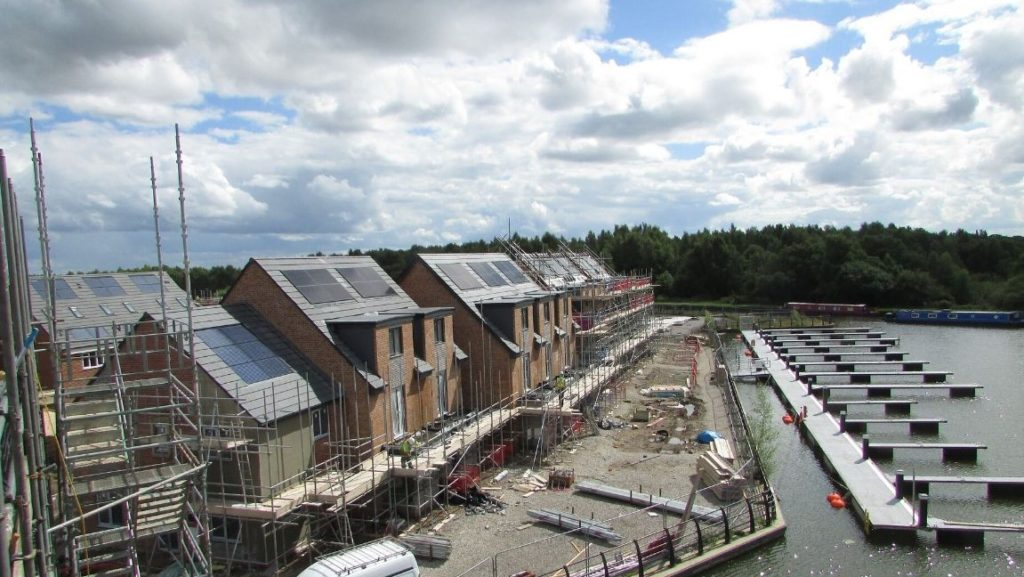 Taylor Wimpey, Pennington Wharf project