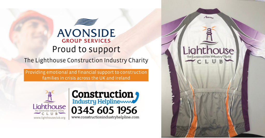 Sarah Burke, Lighthouse Construction Industry charity fundraising cycling challenge