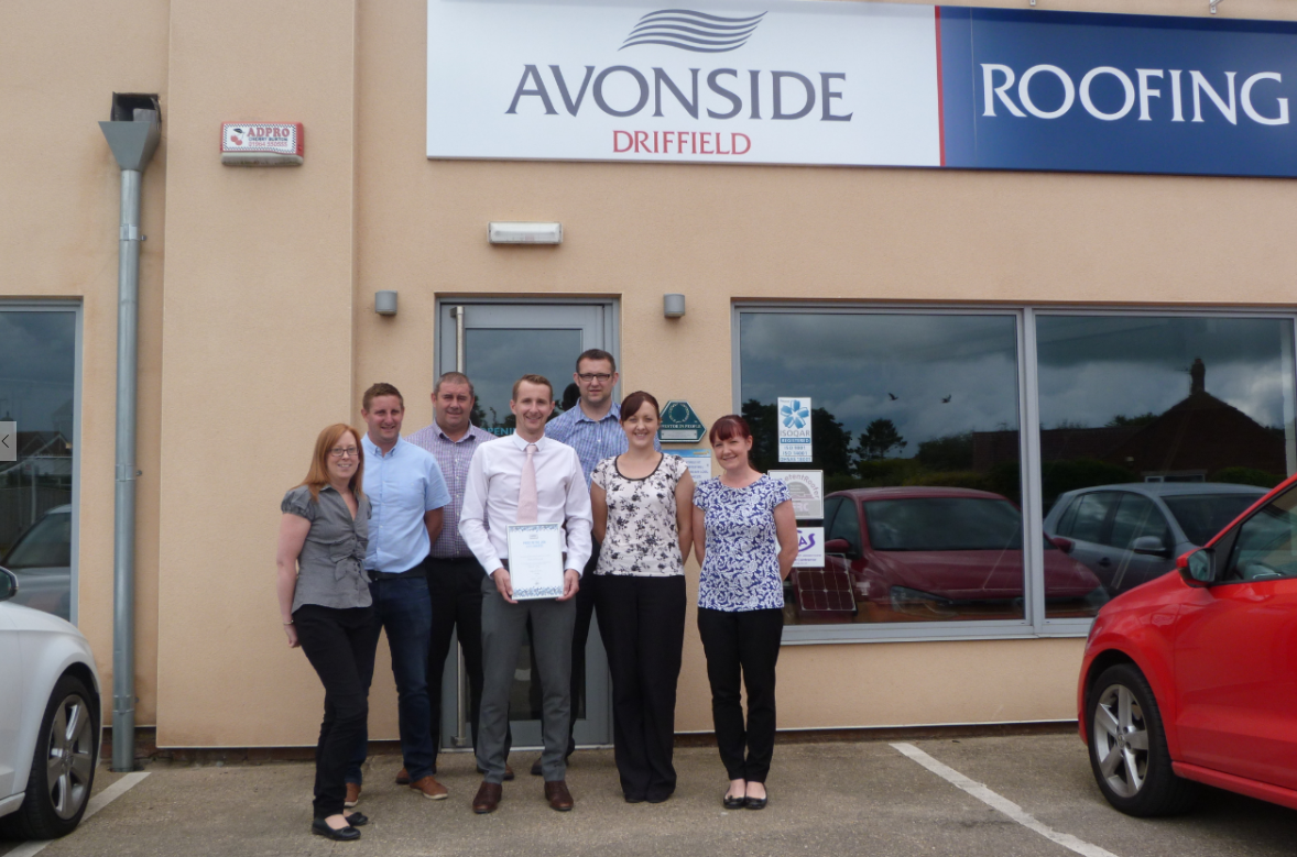 Avonside Driffield wins Pride in the Job