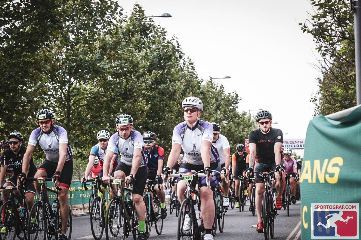 mental health in construction Avonside staff doing Prudential RideLondon to fundraise for Lighthouse Construction Industry Charity