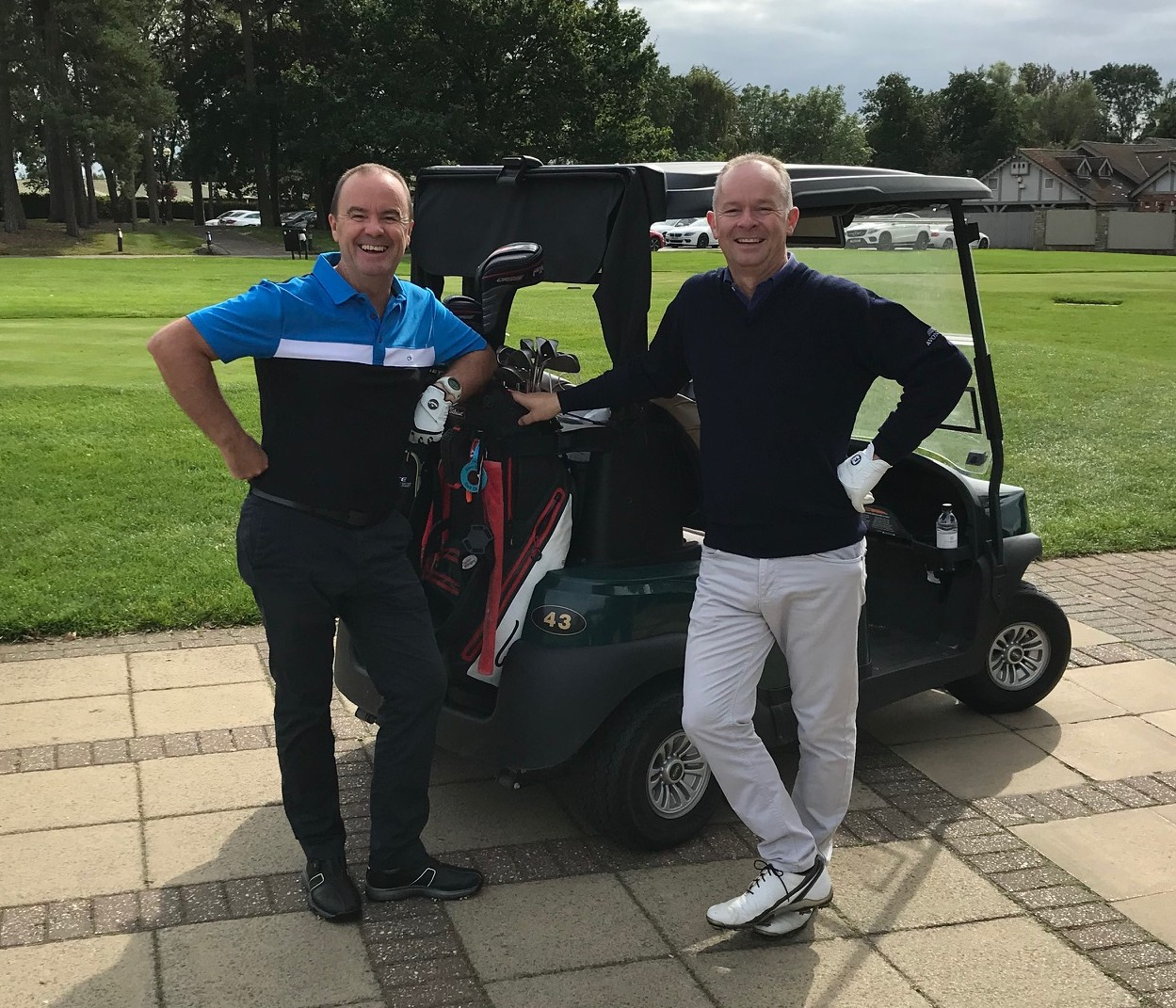 Avonside Group annual CEO Golf Day 2019, Chris Firth