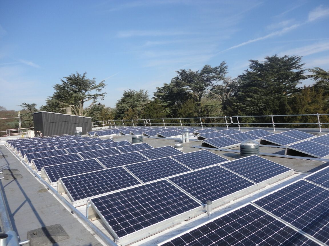 Cavendish House, Welbeck, Solar PV Installation
