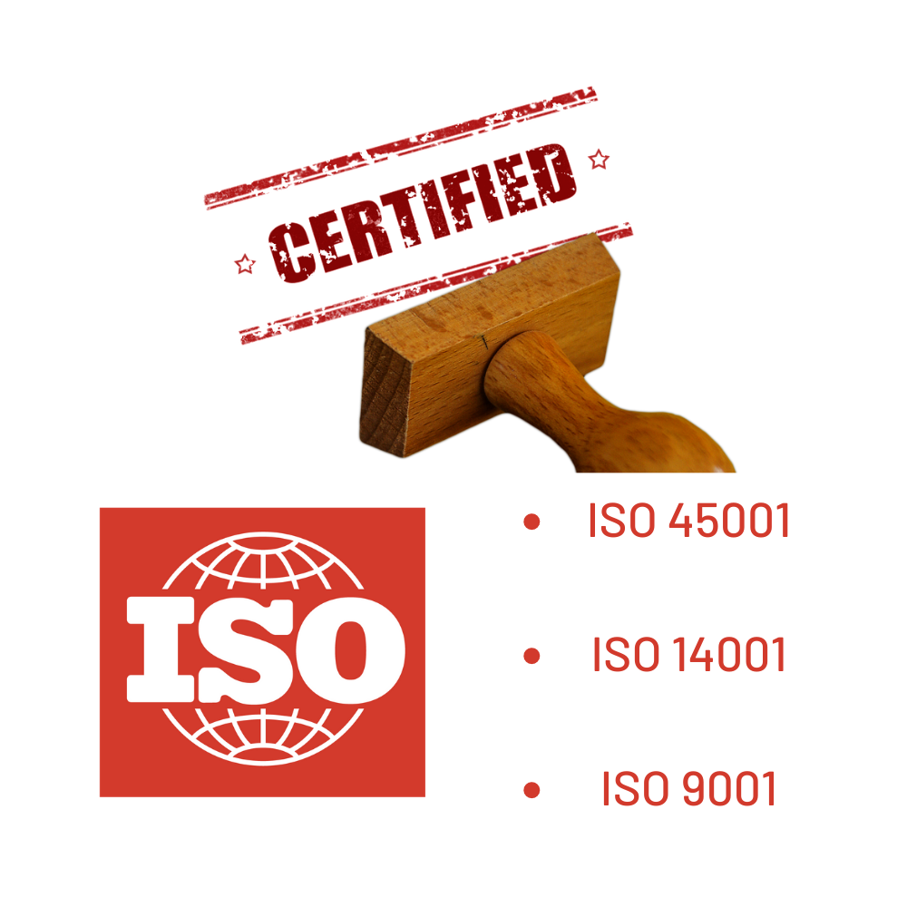 Several Avonside Group branches now re-certified to ISO 9001, 45001 and 14001 standards