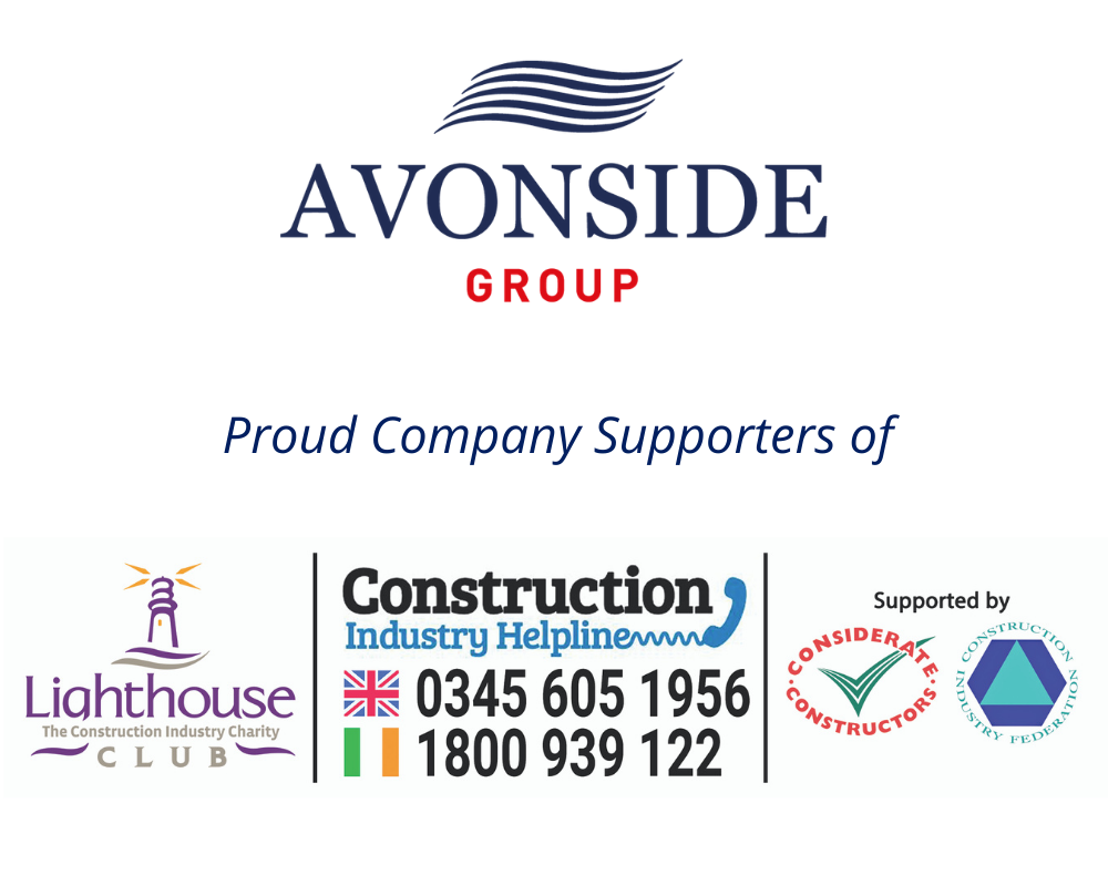 Avonside Group Proud Supporters of Lighthouse Construction Industry Charity