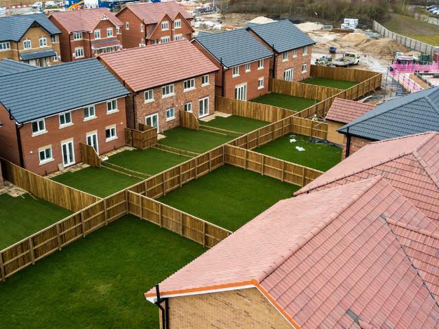 Bracknell Roofing, part of Avonside Group, Simpson Park project for Jones Homes (Yorkshire) Limited