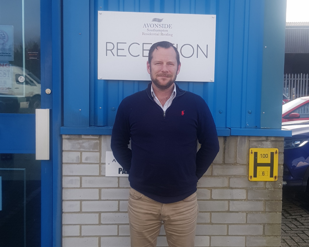 Paul Northrop Avonside Roofing Southampton new Branch Manager