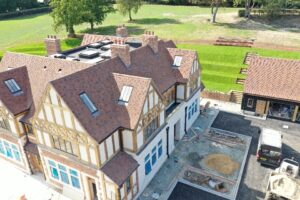 Shelleys Mid-Kent Roofing (part of Avonside Group) re-roofing project in Kent
